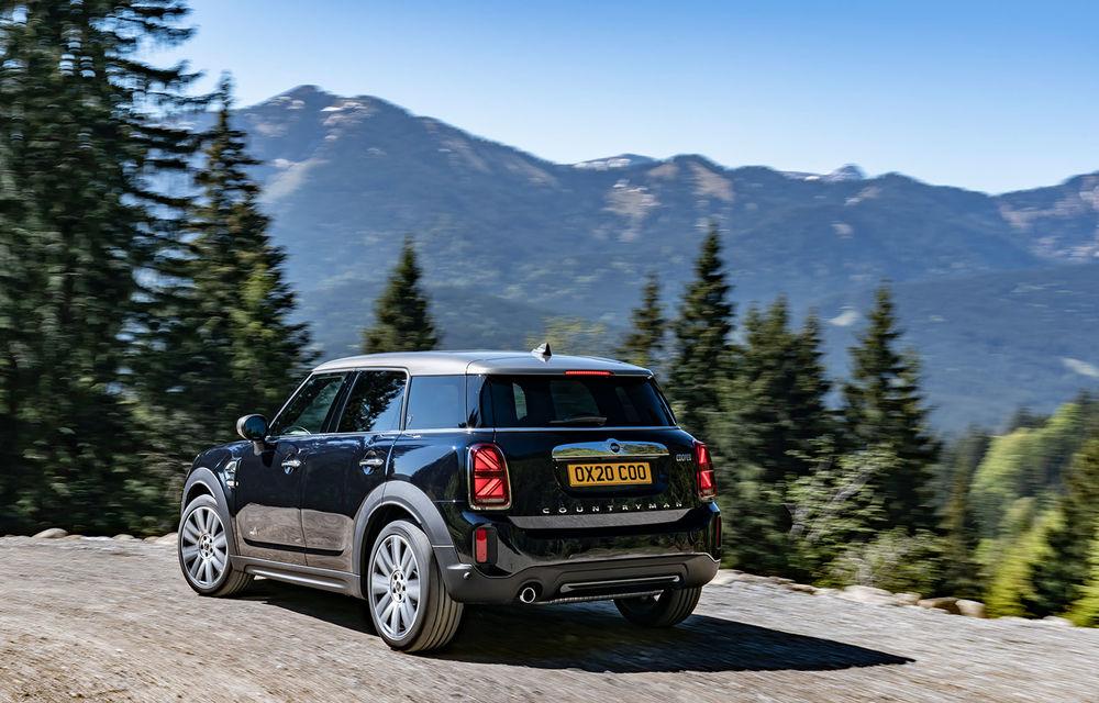 Mini Countryman facelift a fost prezentat oficial: britanicii propun îmbunătățiri exterioare, accesorii noi de interior și versiune plug-in hybrid cu autonomie electrică de până la 61 de kilometri - Poza 12