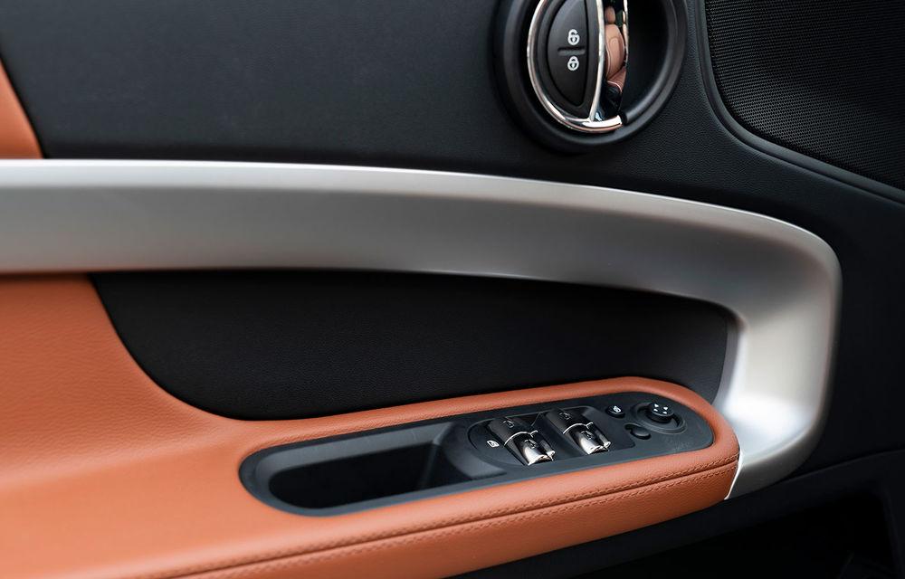 Mini Countryman facelift a fost prezentat oficial: britanicii propun îmbunătățiri exterioare, accesorii noi de interior și versiune plug-in hybrid cu autonomie electrică de până la 61 de kilometri - Poza 87