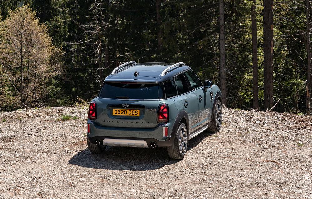 Mini Countryman facelift a fost prezentat oficial: britanicii propun îmbunătățiri exterioare, accesorii noi de interior și versiune plug-in hybrid cu autonomie electrică de până la 61 de kilometri - Poza 67