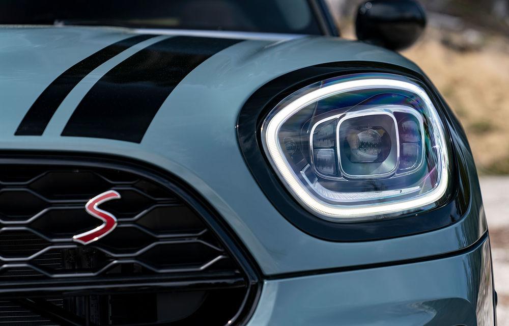 Mini Countryman facelift a fost prezentat oficial: britanicii propun îmbunătățiri exterioare, accesorii noi de interior și versiune plug-in hybrid cu autonomie electrică de până la 61 de kilometri - Poza 73