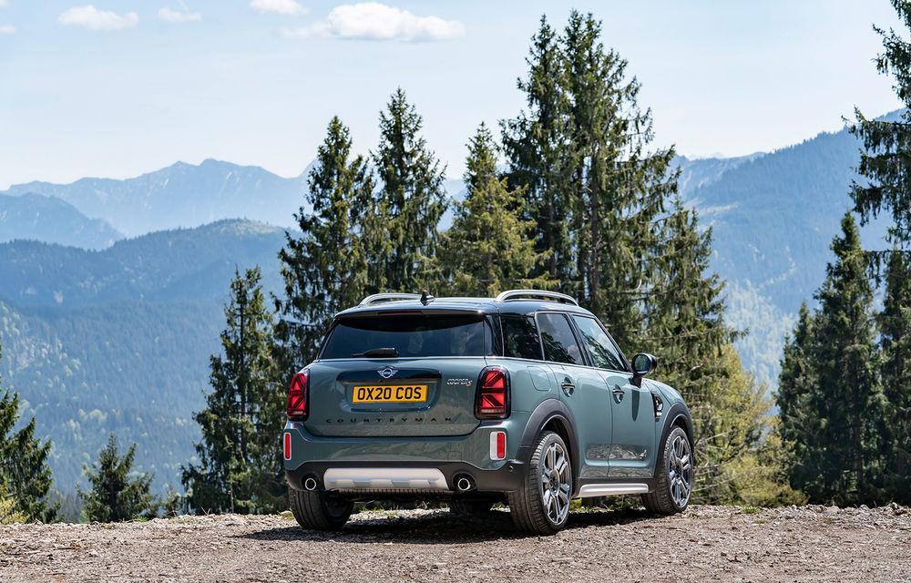 Mini Countryman facelift a fost prezentat oficial: britanicii propun îmbunătățiri exterioare, accesorii noi de interior și versiune plug-in hybrid cu autonomie electrică de până la 61 de kilometri - Poza 72