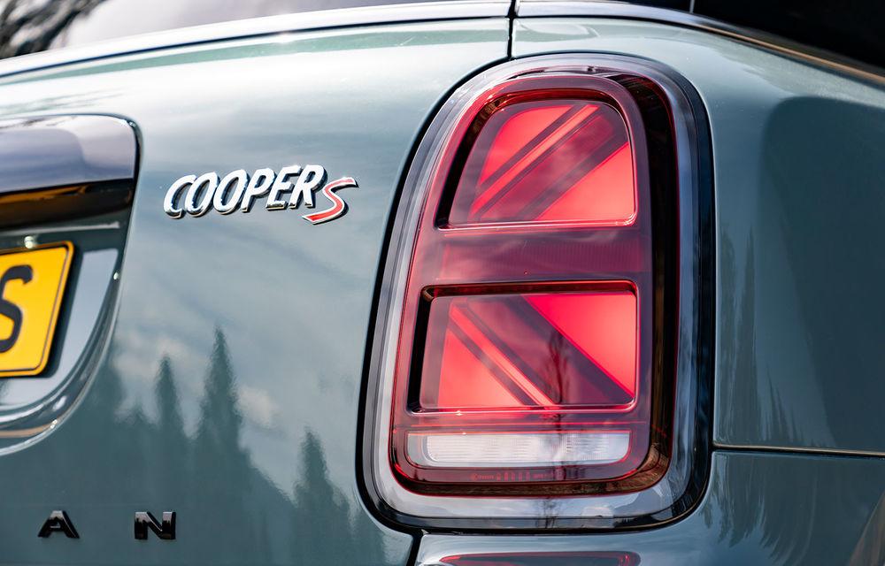 Mini Countryman facelift a fost prezentat oficial: britanicii propun îmbunătățiri exterioare, accesorii noi de interior și versiune plug-in hybrid cu autonomie electrică de până la 61 de kilometri - Poza 78