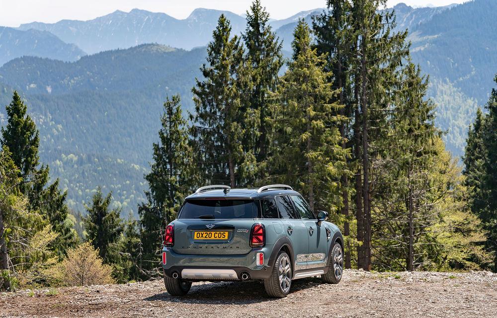 Mini Countryman facelift a fost prezentat oficial: britanicii propun îmbunătățiri exterioare, accesorii noi de interior și versiune plug-in hybrid cu autonomie electrică de până la 61 de kilometri - Poza 70