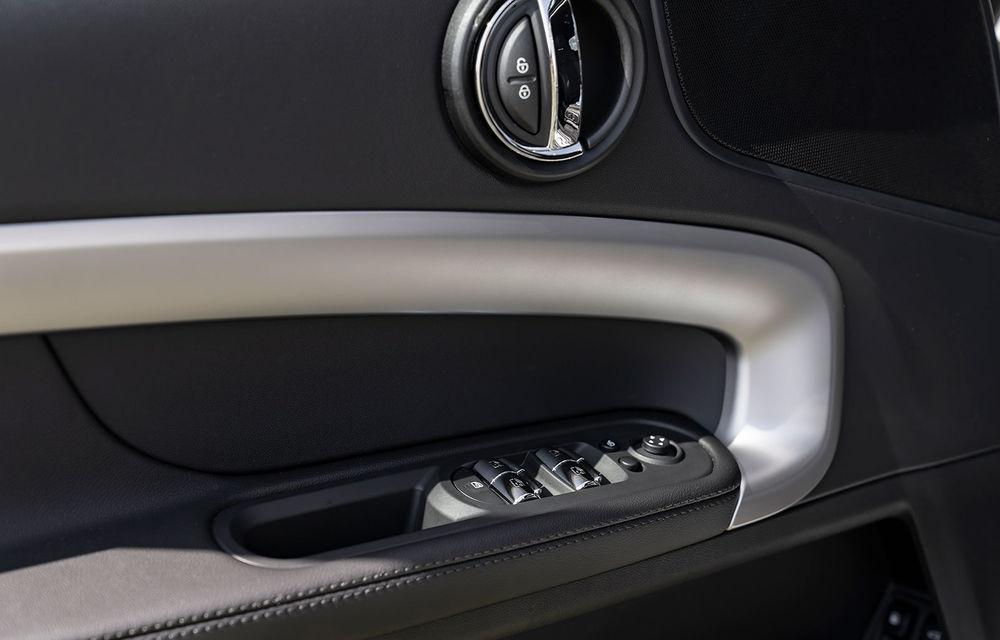 Mini Countryman facelift a fost prezentat oficial: britanicii propun îmbunătățiri exterioare, accesorii noi de interior și versiune plug-in hybrid cu autonomie electrică de până la 61 de kilometri - Poza 135