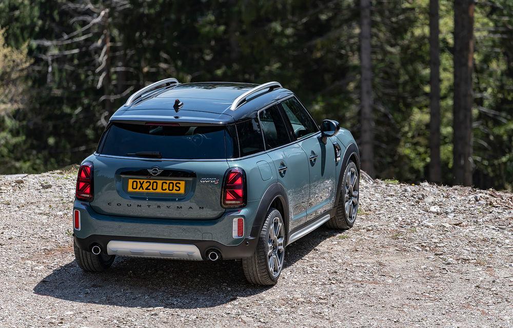 Mini Countryman facelift a fost prezentat oficial: britanicii propun îmbunătățiri exterioare, accesorii noi de interior și versiune plug-in hybrid cu autonomie electrică de până la 61 de kilometri - Poza 68