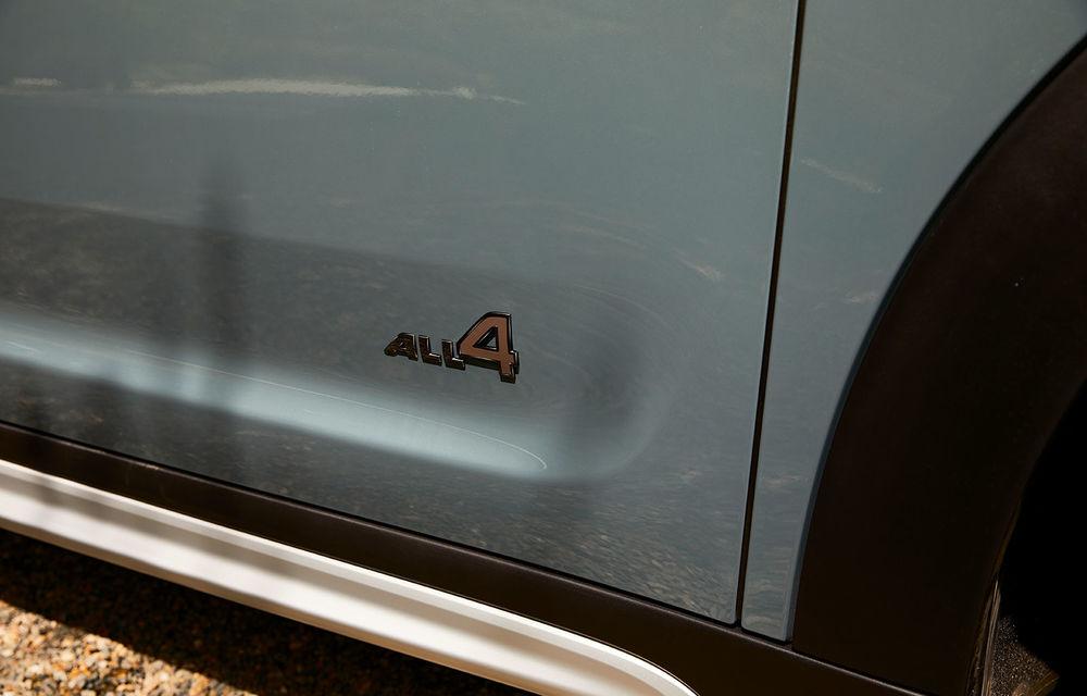 Mini Countryman facelift a fost prezentat oficial: britanicii propun îmbunătățiri exterioare, accesorii noi de interior și versiune plug-in hybrid cu autonomie electrică de până la 61 de kilometri - Poza 163