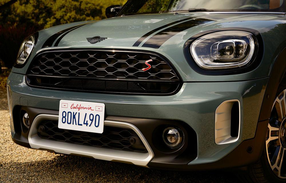 Mini Countryman facelift a fost prezentat oficial: britanicii propun îmbunătățiri exterioare, accesorii noi de interior și versiune plug-in hybrid cu autonomie electrică de până la 61 de kilometri - Poza 159