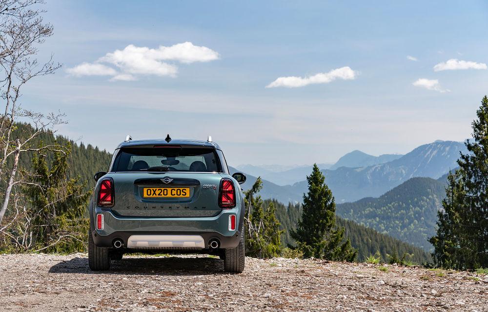 Mini Countryman facelift a fost prezentat oficial: britanicii propun îmbunătățiri exterioare, accesorii noi de interior și versiune plug-in hybrid cu autonomie electrică de până la 61 de kilometri - Poza 71