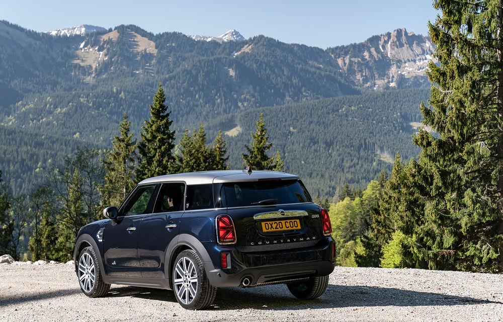 Mini Countryman facelift a fost prezentat oficial: britanicii propun îmbunătățiri exterioare, accesorii noi de interior și versiune plug-in hybrid cu autonomie electrică de până la 61 de kilometri - Poza 20