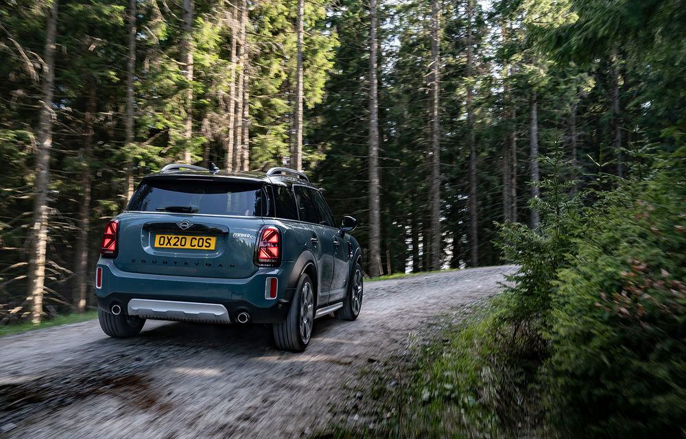 Mini Countryman facelift a fost prezentat oficial: britanicii propun îmbunătățiri exterioare, accesorii noi de interior și versiune plug-in hybrid cu autonomie electrică de până la 61 de kilometri - Poza 53