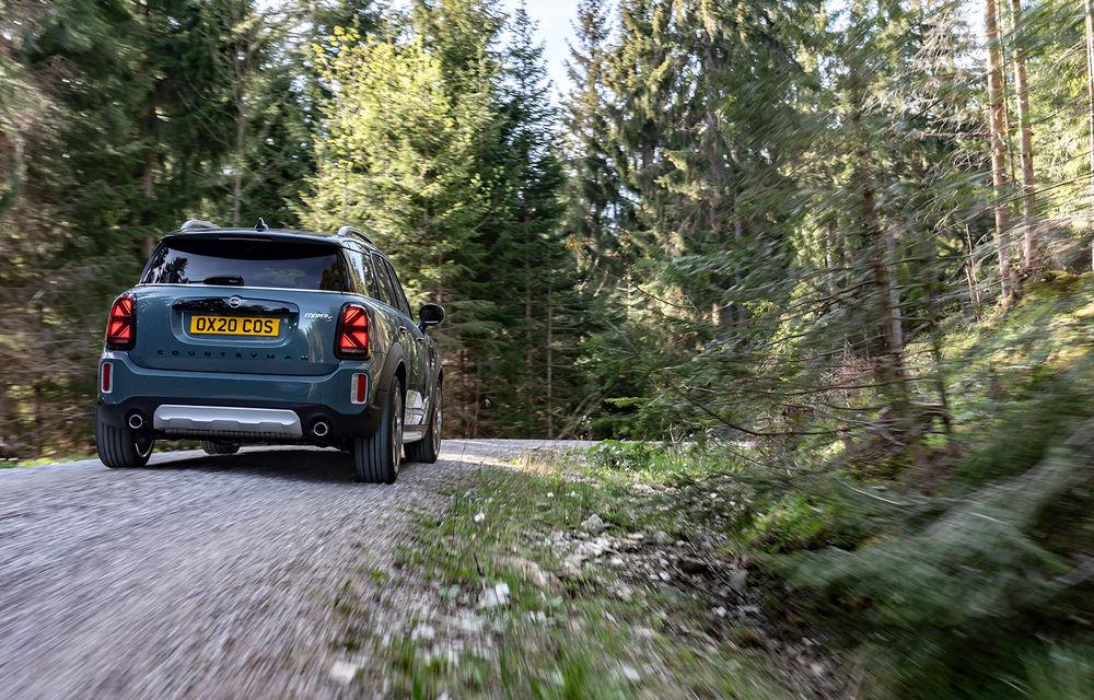 Mini Countryman facelift a fost prezentat oficial: britanicii propun îmbunătățiri exterioare, accesorii noi de interior și versiune plug-in hybrid cu autonomie electrică de până la 61 de kilometri - Poza 51