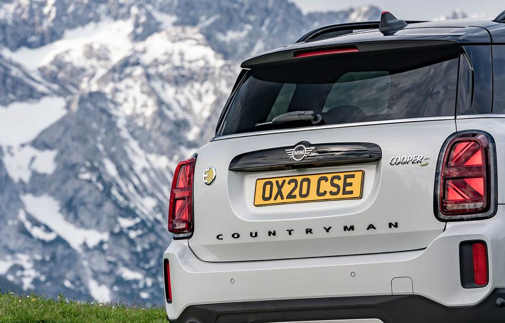 Mini Countryman facelift a fost prezentat oficial: britanicii propun îmbunătățiri exterioare, accesorii noi de interior și versiune plug-in hybrid cu autonomie electrică de până la 61 de kilometri - Poza 122
