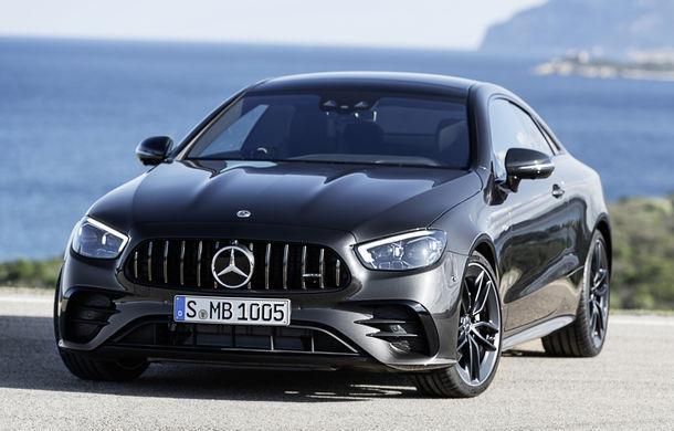 Mercedes-Benz prezintă Clasa E Coupe și Cabriolet facelift: ecrane de 12.3 inch la interior și motorizări mild-hybrid de până la 367 CP - Poza 47
