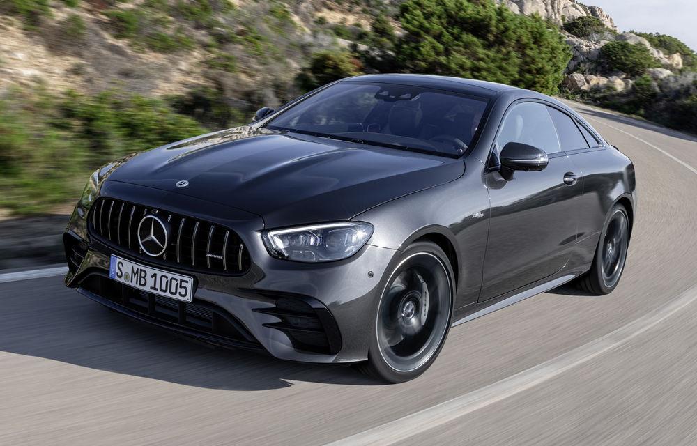 Mercedes-Benz prezintă Clasa E Coupe și Cabriolet facelift: ecrane de 12.3 inch la interior și motorizări mild-hybrid de până la 367 CP - Poza 34