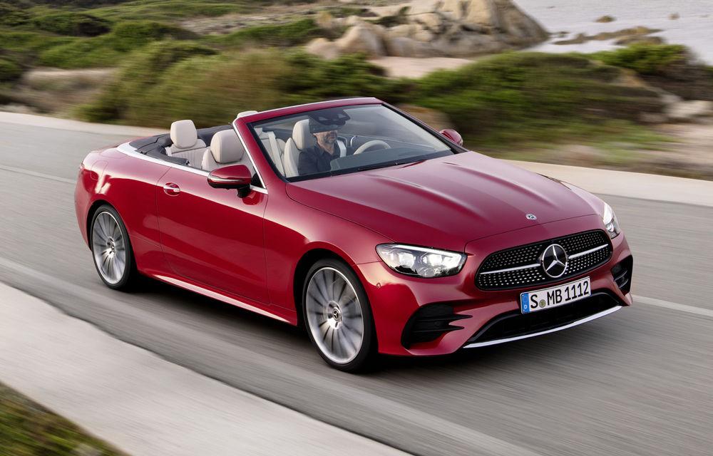 Mercedes-Benz prezintă Clasa E Coupe și Cabriolet facelift: ecrane de 12.3 inch la interior și motorizări mild-hybrid de până la 367 CP - Poza 14