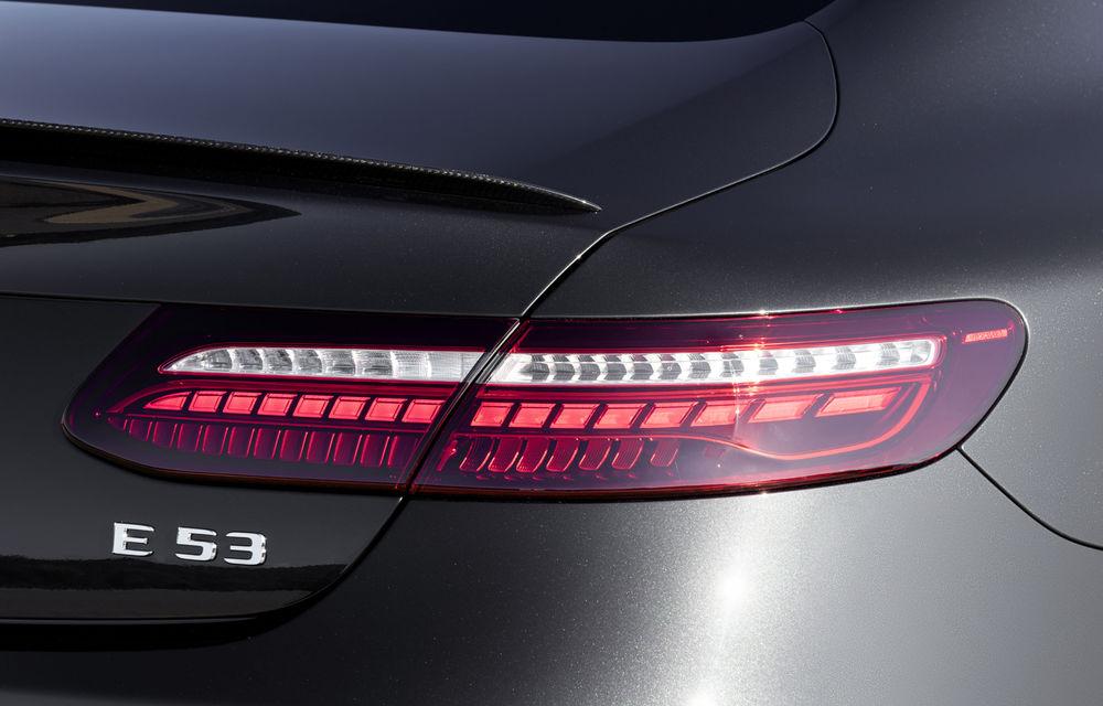 Mercedes-Benz prezintă Clasa E Coupe și Cabriolet facelift: ecrane de 12.3 inch la interior și motorizări mild-hybrid de până la 367 CP - Poza 59
