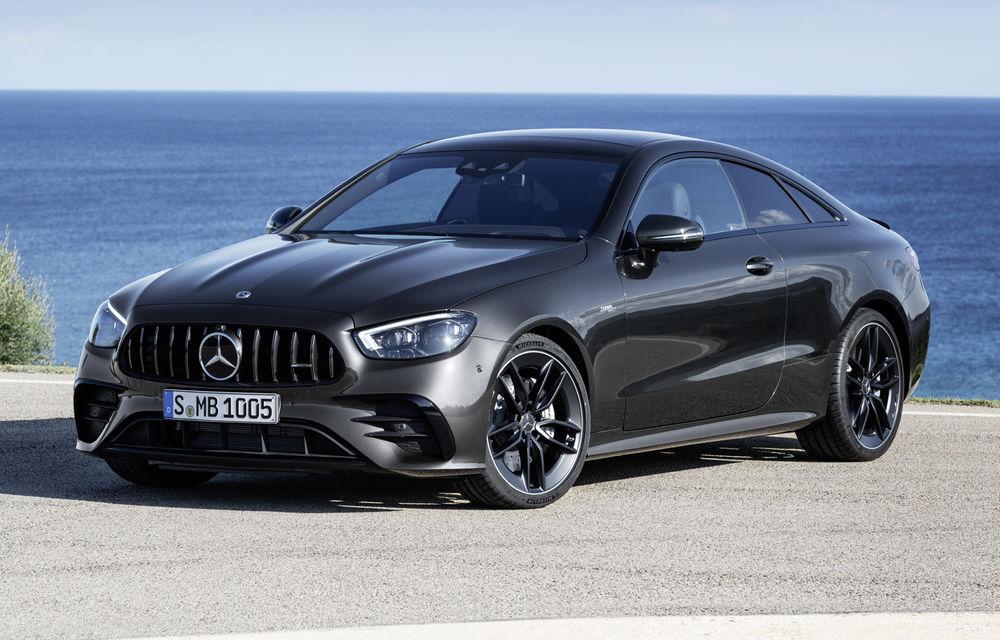 Mercedes-Benz prezintă Clasa E Coupe și Cabriolet facelift: ecrane de 12.3 inch la interior și motorizări mild-hybrid de până la 367 CP - Poza 48
