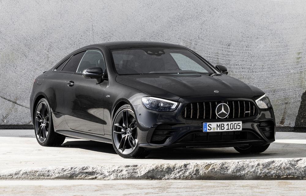 Mercedes-Benz prezintă Clasa E Coupe și Cabriolet facelift: ecrane de 12.3 inch la interior și motorizări mild-hybrid de până la 367 CP - Poza 44
