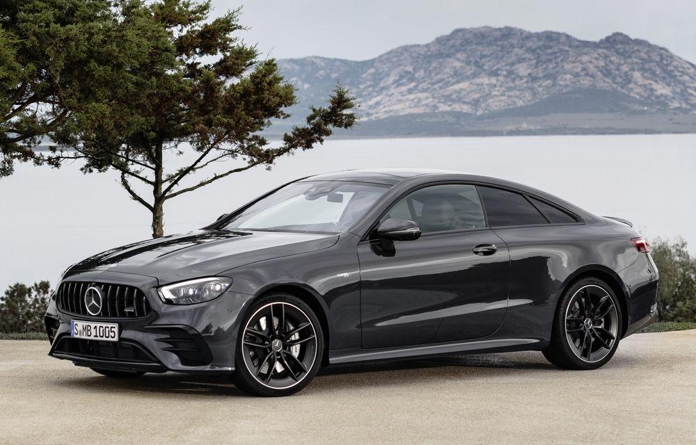 Mercedes-Benz prezintă Clasa E Coupe și Cabriolet facelift: ecrane de 12.3 inch la interior și motorizări mild-hybrid de până la 367 CP - Poza 56