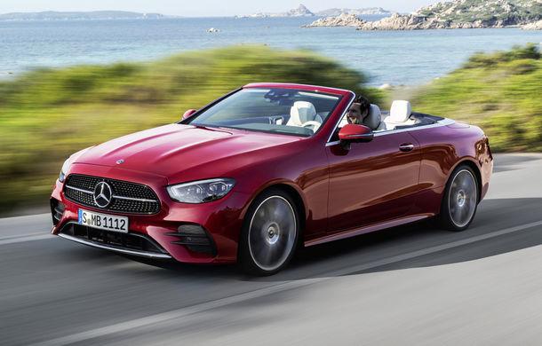 Mercedes-Benz prezintă Clasa E Coupe și Cabriolet facelift: ecrane de 12.3 inch la interior și motorizări mild-hybrid de până la 367 CP - Poza 3