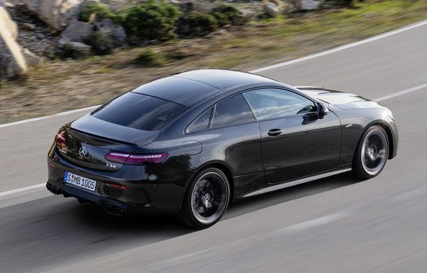Mercedes-Benz prezintă Clasa E Coupe și Cabriolet facelift: ecrane de 12.3 inch la interior și motorizări mild-hybrid de până la 367 CP - Poza 41