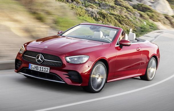 Mercedes-Benz prezintă Clasa E Coupe și Cabriolet facelift: ecrane de 12.3 inch la interior și motorizări mild-hybrid de până la 367 CP - Poza 8