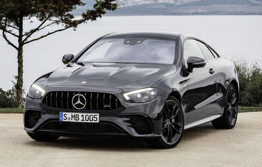Mercedes-Benz prezintă Clasa E Coupe și Cabriolet facelift: ecrane de 12.3 inch la interior și motorizări mild-hybrid de până la 367 CP - Poza 57