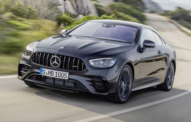 Mercedes-Benz prezintă Clasa E Coupe și Cabriolet facelift: ecrane de 12.3 inch la interior și motorizări mild-hybrid de până la 367 CP - Poza 30