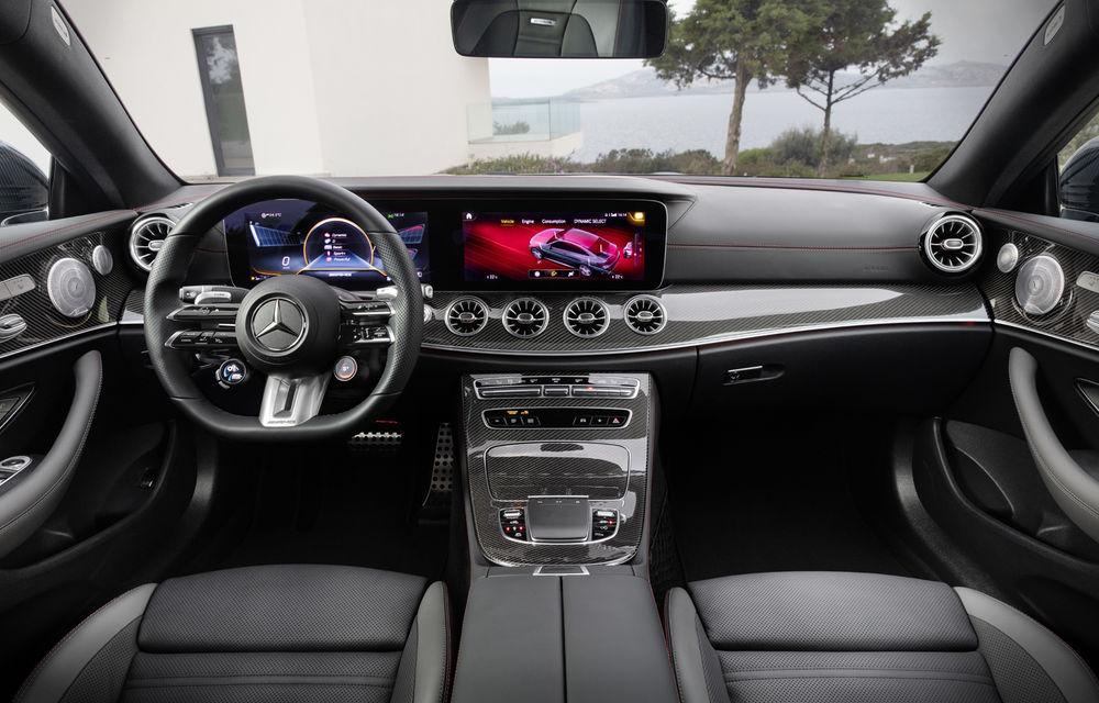 Mercedes-Benz prezintă Clasa E Coupe și Cabriolet facelift: ecrane de 12.3 inch la interior și motorizări mild-hybrid de până la 367 CP - Poza 65