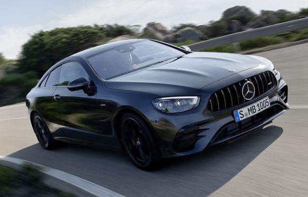 Mercedes-Benz prezintă Clasa E Coupe și Cabriolet facelift: ecrane de 12.3 inch la interior și motorizări mild-hybrid de până la 367 CP - Poza 35