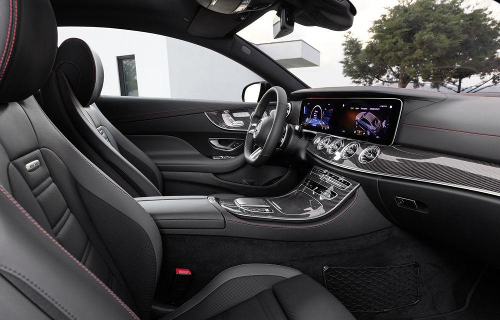 Mercedes-Benz prezintă Clasa E Coupe și Cabriolet facelift: ecrane de 12.3 inch la interior și motorizări mild-hybrid de până la 367 CP - Poza 63