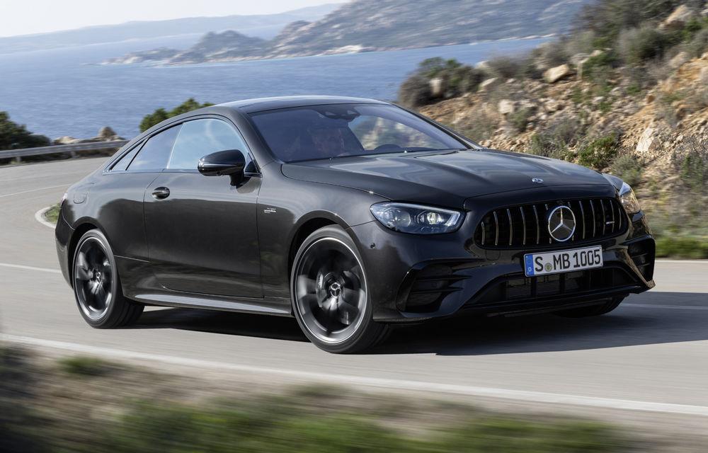Mercedes-Benz prezintă Clasa E Coupe și Cabriolet facelift: ecrane de 12.3 inch la interior și motorizări mild-hybrid de până la 367 CP - Poza 36