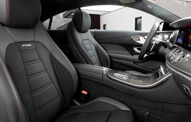 Mercedes-Benz prezintă Clasa E Coupe și Cabriolet facelift: ecrane de 12.3 inch la interior și motorizări mild-hybrid de până la 367 CP - Poza 64