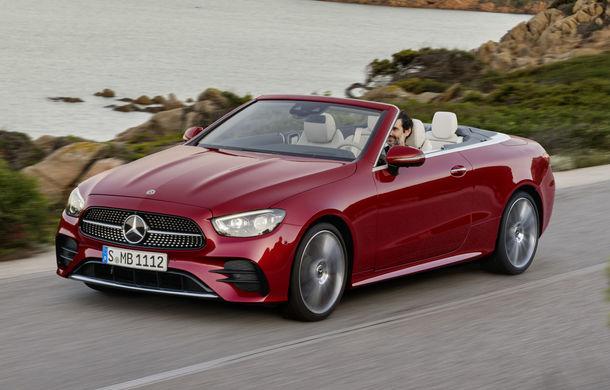 Mercedes-Benz prezintă Clasa E Coupe și Cabriolet facelift: ecrane de 12.3 inch la interior și motorizări mild-hybrid de până la 367 CP - Poza 16