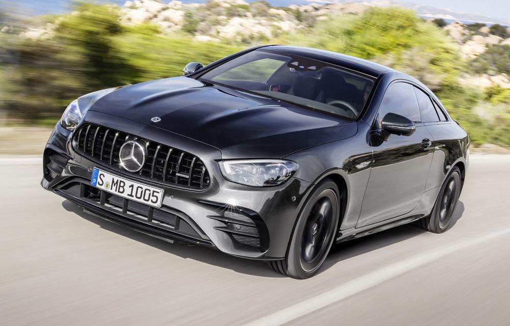 Mercedes-Benz prezintă Clasa E Coupe și Cabriolet facelift: ecrane de 12.3 inch la interior și motorizări mild-hybrid de până la 367 CP - Poza 33