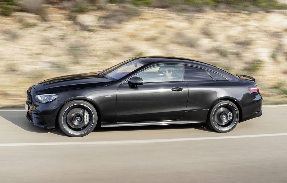 Mercedes-Benz prezintă Clasa E Coupe și Cabriolet facelift: ecrane de 12.3 inch la interior și motorizări mild-hybrid de până la 367 CP - Poza 32