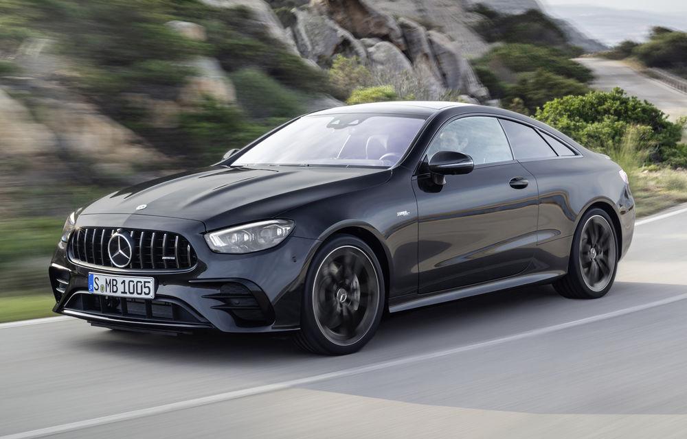 Mercedes-Benz prezintă Clasa E Coupe și Cabriolet facelift: ecrane de 12.3 inch la interior și motorizări mild-hybrid de până la 367 CP - Poza 29