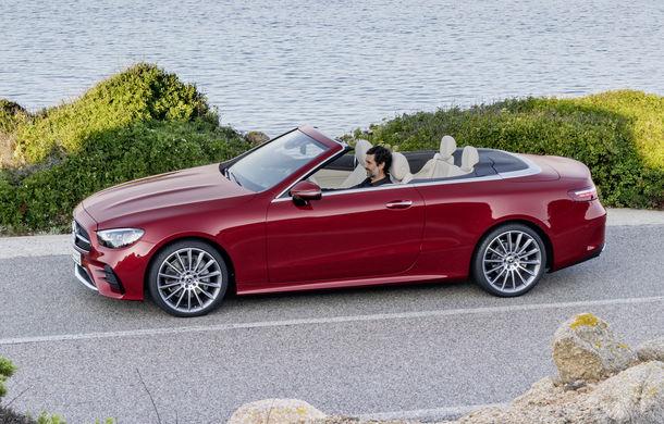 Mercedes-Benz prezintă Clasa E Coupe și Cabriolet facelift: ecrane de 12.3 inch la interior și motorizări mild-hybrid de până la 367 CP - Poza 20