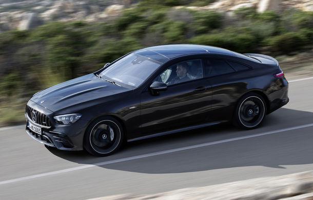 Mercedes-Benz prezintă Clasa E Coupe și Cabriolet facelift: ecrane de 12.3 inch la interior și motorizări mild-hybrid de până la 367 CP - Poza 39