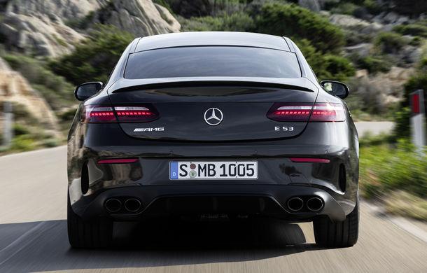 Mercedes-Benz prezintă Clasa E Coupe și Cabriolet facelift: ecrane de 12.3 inch la interior și motorizări mild-hybrid de până la 367 CP - Poza 38