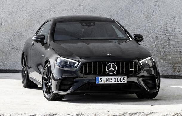 Mercedes-Benz prezintă Clasa E Coupe și Cabriolet facelift: ecrane de 12.3 inch la interior și motorizări mild-hybrid de până la 367 CP - Poza 45