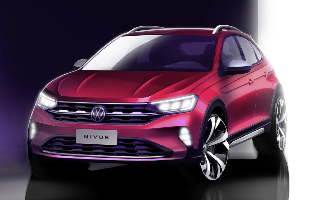 Un nou teaser pentru Volkswagen Nivus: noul SUV coupe va fi prezentat în 28 mai - Poza 1