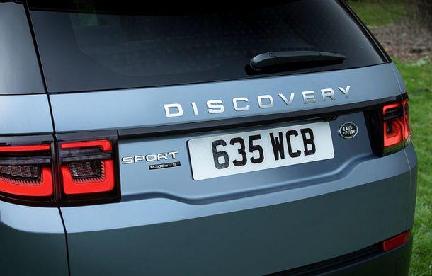 Prețuri pentru Land Rover Discovery Sport plug-in hybrid: de la 50.000 de euro pentru o autonomie electrică de 66 de kilometri - Poza 13