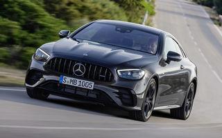 Fără versiuni AMG 63 pentru Mercedes-Benz Clasa E Coupe și Cabriolet facelift: