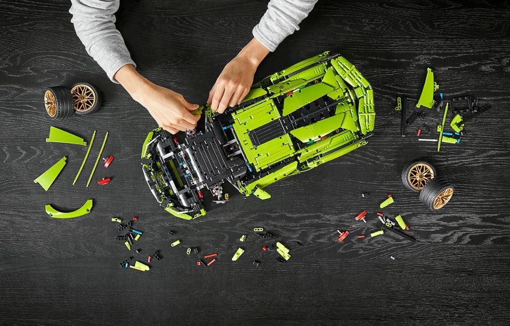 Pentru copilul din tine: Lego a pregătit un Lamborghini Sian din aproape 3.700 de piese - Poza 8