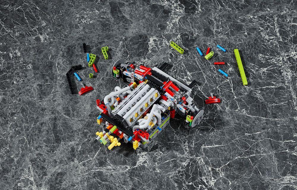 Pentru copilul din tine: Lego a pregătit un Lamborghini Sian din aproape 3.700 de piese - Poza 11