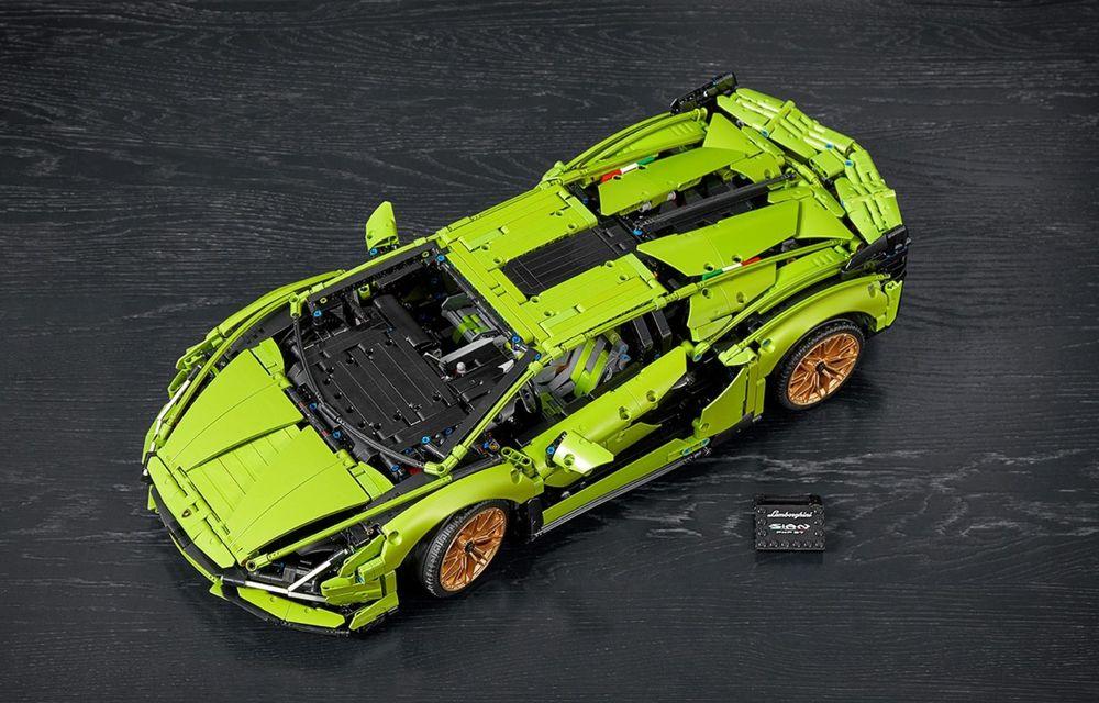 Pentru copilul din tine: Lego a pregătit un Lamborghini Sian din aproape 3.700 de piese - Poza 4