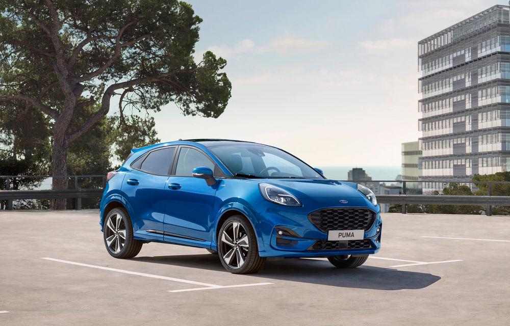 Noutăți pentru Ford Puma: motor diesel de 120 CP și transmisie automată pentru versiunea pe benzină - Poza 1