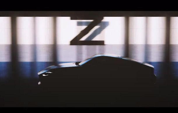 Primul teaser video cu succesorul lui Nissan 370Z: noul model ar urma să aibă motor V6 biturbo de 400 de cai putere - Poza 1