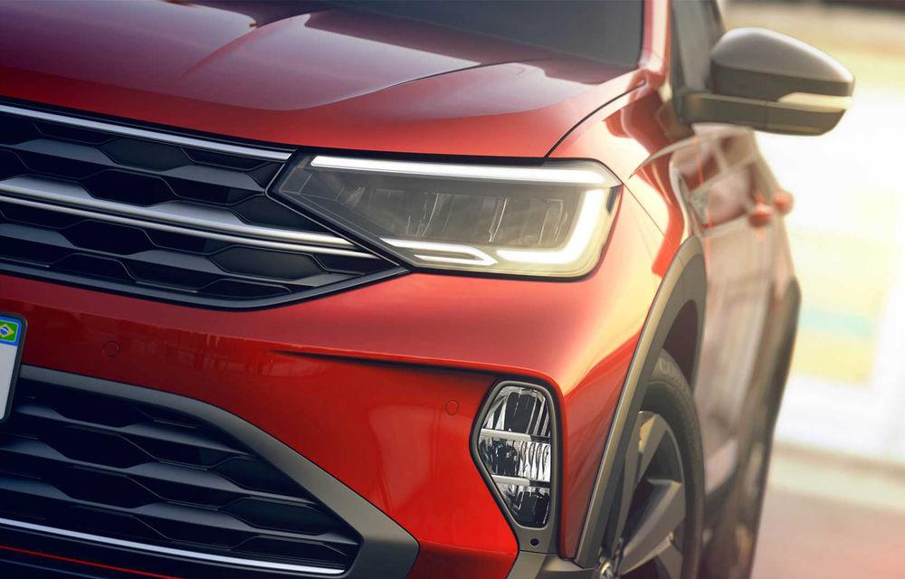 Primele imagini cu Volkswagen Nivus: SUV-ul coupe debutează în Brazilia înainte de a ajunge în Europa - Poza 20